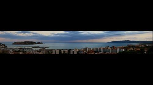 Las islas Medes y la Gran de Pals vistas desde Casa Nuria - L`Estartit