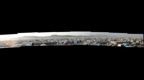 Burning Man 2011 Panorama 2