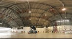 Interior of Hangar 211 at NASA Ames Research Center