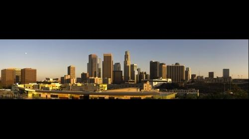 Los Angeles Evening Skyline