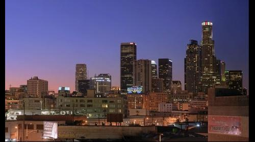 Los Angeles Skyline at Night