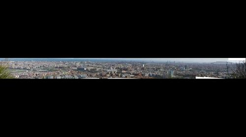 Panoramica de Barcelona desde Nou Barris
