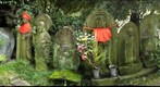 Japanese Jizo statues