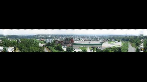 Latrobe, PA from Hospital roof
