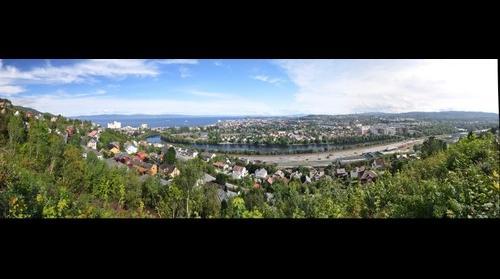 Trondheim from Sverresborg