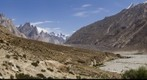 Trek to K2 - Trango group and indus river from Paiju camp