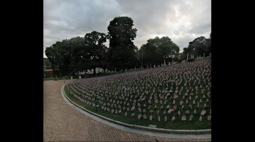 Iraq Memorial, Prospect Hill Cemetery