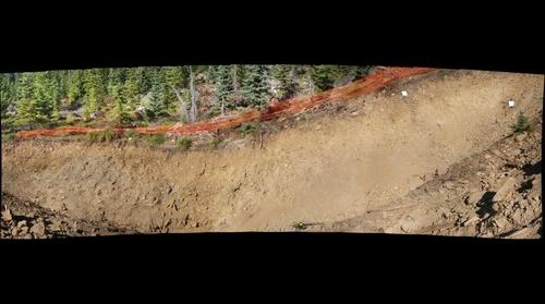BLue Ridge Fault trench 1, Mt Hood Oregon