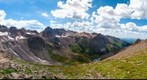 Mt. Sneffels - Blue Lakes & Yankee Boy Basin 360 from saddle