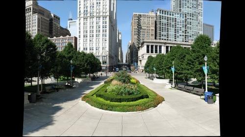 Intersection of Michigan & Washington (Chicago IL)