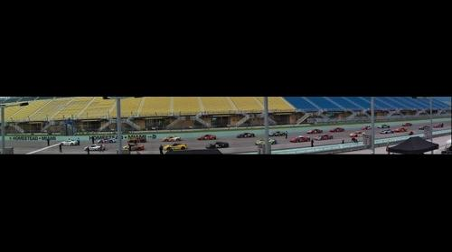 Ferrari at Homestead Speedway