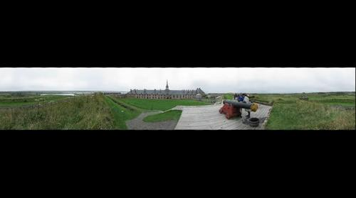 Fortress Louisbourg, Nova Scotia, Canada by Trey Smith