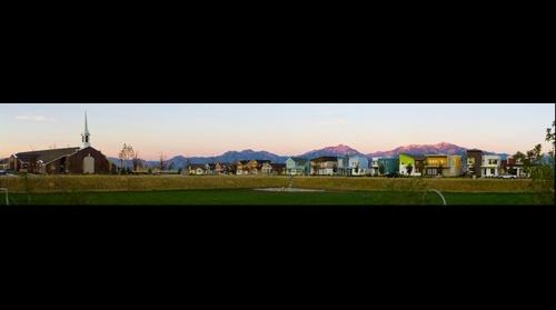 Daybreak Park at Sunset, South Jordan, Utah