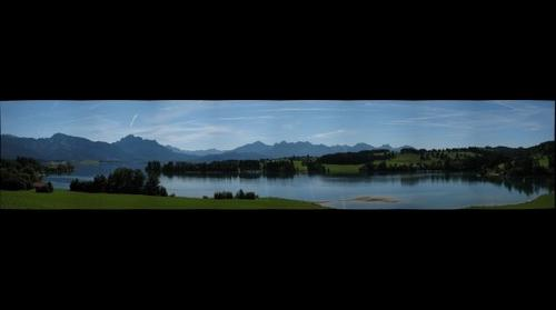 at the Forggensee
