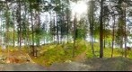 Nokia N9 panorama, Ghillie Island, Iitti, Finland