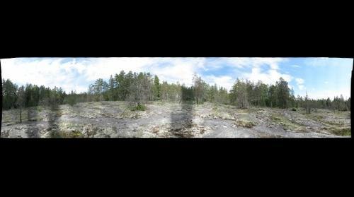 Landscape in Nuuksio park