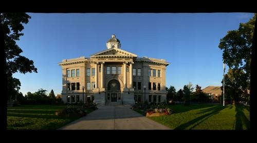 Missoula County Courthouse view 1
