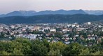 Klagenfurt from the Observatory