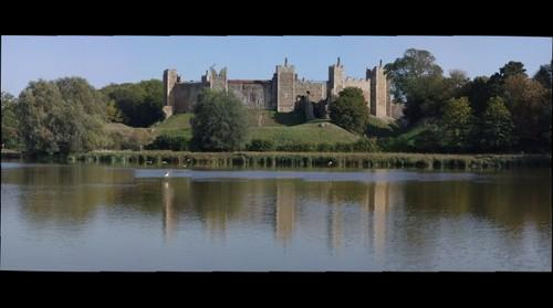 Framlingham Castle across the Mere