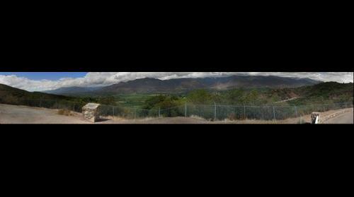 Ojai Valley after rainstorm