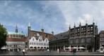 Lubeck main market square