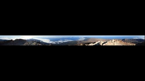 Teide summit 360grd