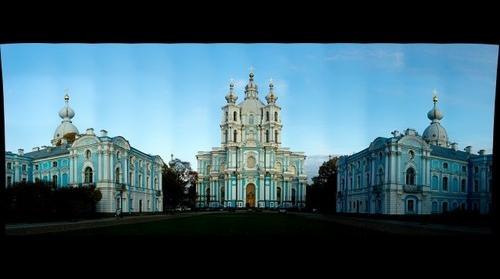 Russia, St.-Petersburg, Smolny cathedral