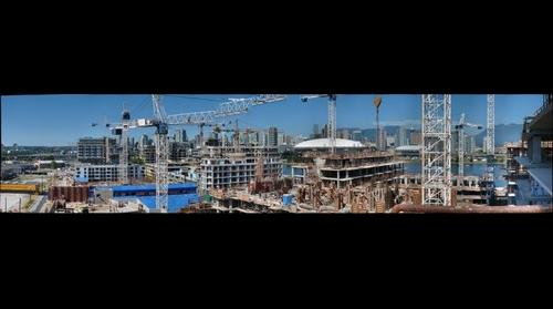 Vancouver Olympic village construction