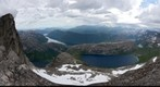 View from Stedtinden, National mountain of Norway
