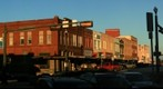 Oak Street on the Square, Denton, Texas