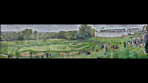 BMW Championship - Panorama 2 - 14th Green - Sep 18th 2011