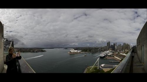 Sydney Harbor from Bridge Turret