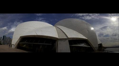 Sydney Opera House (Side View)