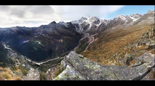 panorama dal faderhorn