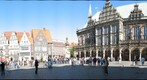 Bremen (Germany), Marktplatz: Roland, Rathaus