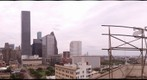 Downtown Houston after Hurricane Ike