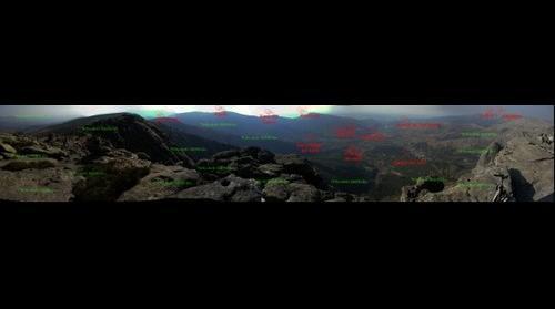 Panoramica desde el Torozo