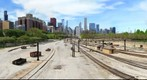 Chicago - Metra Railway &amp;amp; Skyline