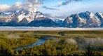 Snake River Overlook - Grand Tetons National Park