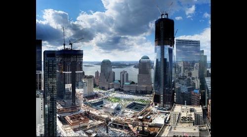 1 World Trade Center at 1000 feet