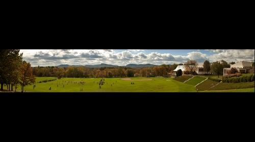 Amherst 2011 Homecoming, Memorial Hill