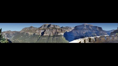 Valle de Ordesa desde el mirador de Carcilarruego