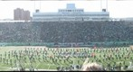 Marshall University Band at Homecoming 2011