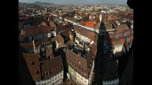 Freiburg vom Muensterturm