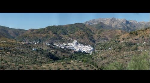 Tolox desde la Ermita de San Roque