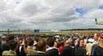 Melbourne Cup Crowd, 11:20 am, Nov 5, 2002