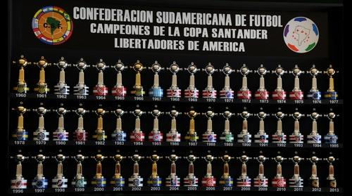 Muestrario Mini Copas Libertadores