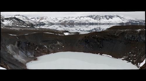 Askja caldera, Icelandic highlands