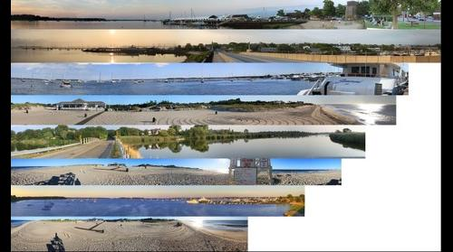 Panoramas from the Hamptons,New York