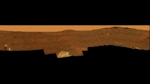 'Calypso' Panorama of Spirit's View from 'Troy'